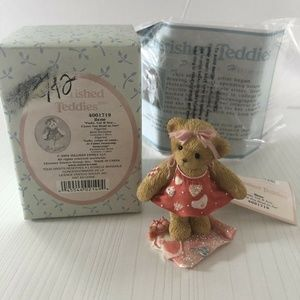 "Cherished Teddies  Ilene ""Paste,cut, & Sew…I Love"